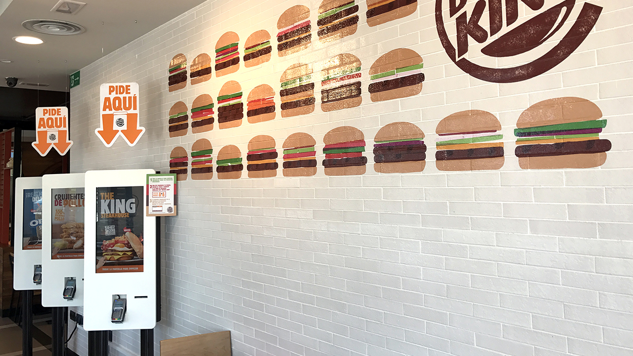 Interactive self-service kiosks