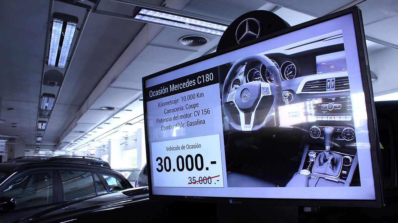 Digital Sign Solutions for Car Dealers