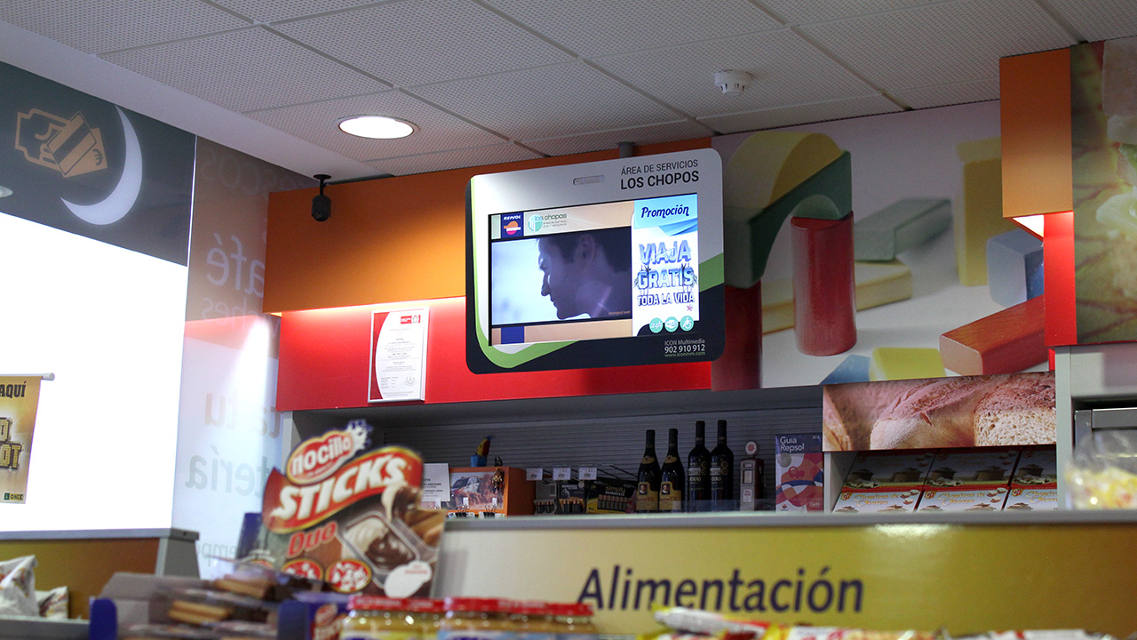 Digital Signage for Smart Stations