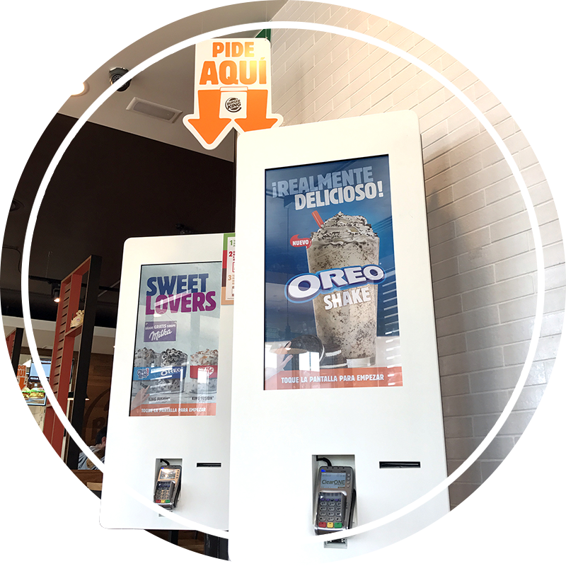 Self Service Kiosk Software for Fast Food Restaurants