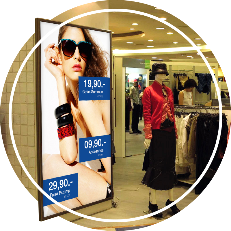 Multi-format Digital Signage