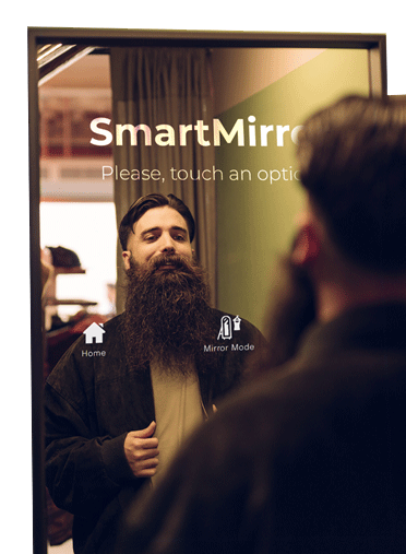 Smart Mirror: Probador virtual de DENEVA para Smart Retail