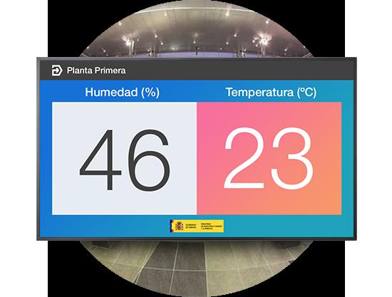 Temperatura y Humedad en Edificios