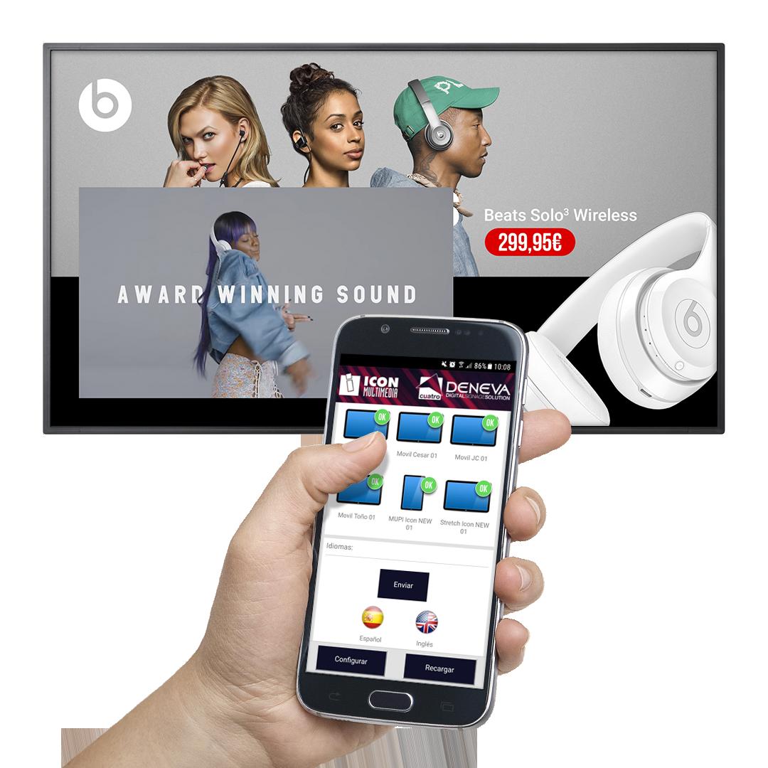 Aplicación de DENEVA para Smartphones